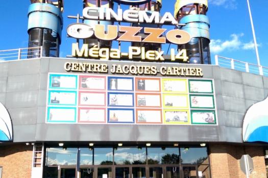 Mega Plex Centre Jacques-Cartier cinema Guzzo