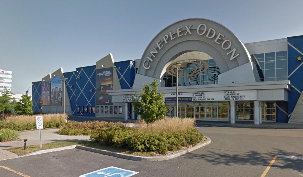 Cinema Cineplex Odeon Brossard