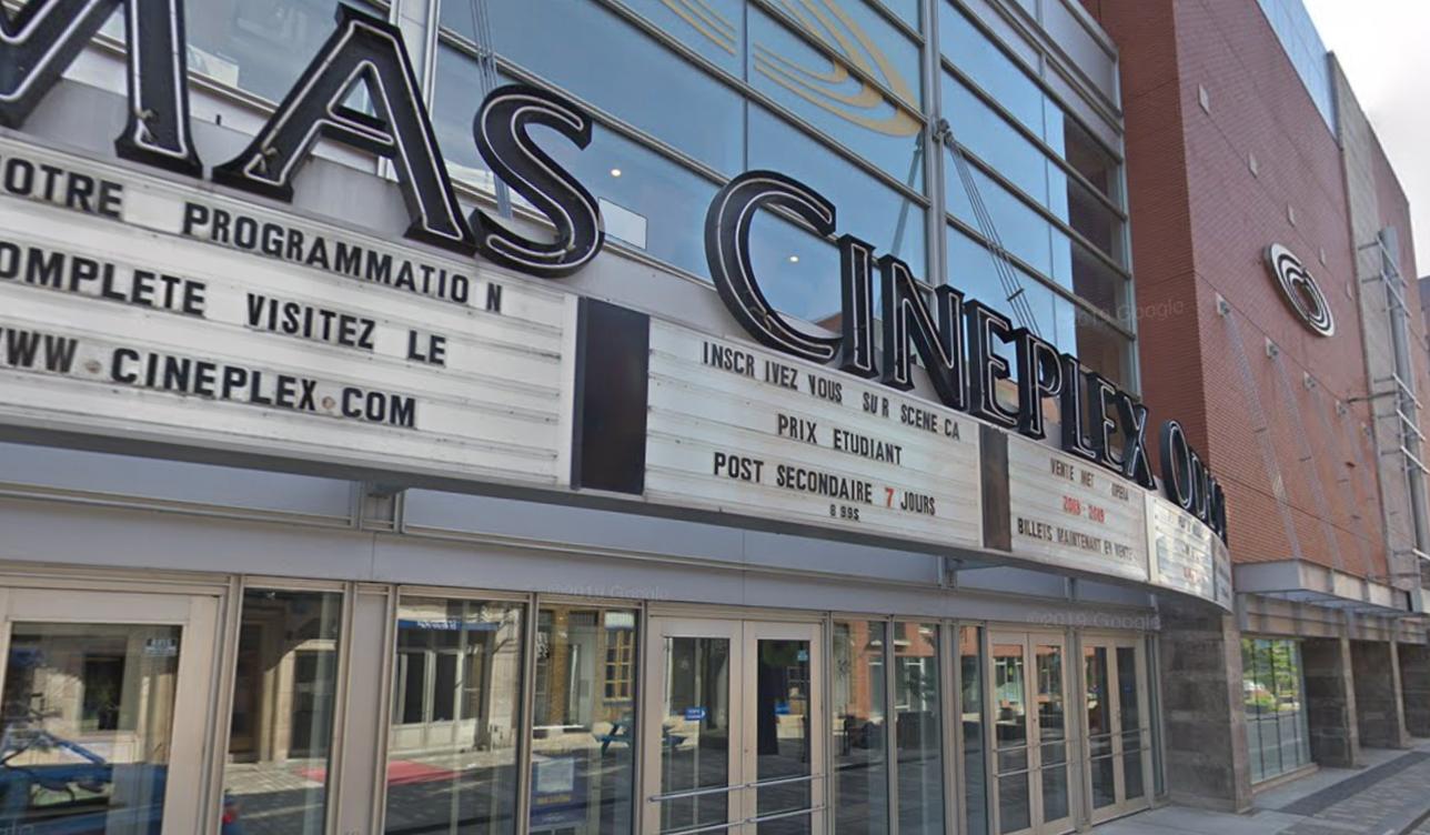 Cinéma Cineplex Quartier Latin